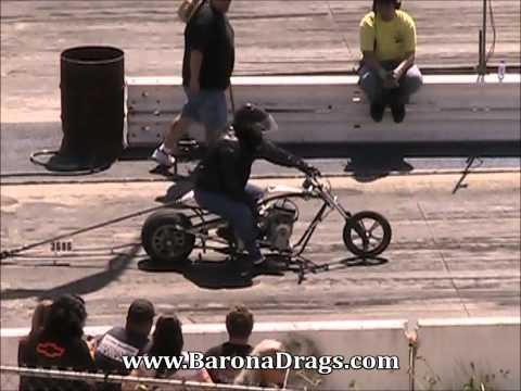 Mini Bike Drag Racing Barona Drag Strip 3-23-2013