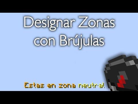 Creaciones Minecraft -  Designar Zonas Con Brújulas, 1.9 - 1.10.2