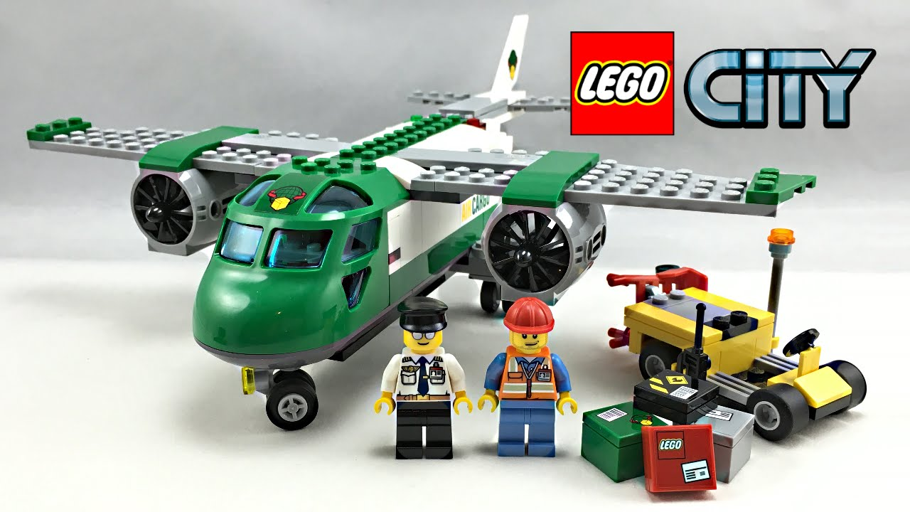 LEGO City Airport Cargo Plane 2016 set review! 60101 - YouTube