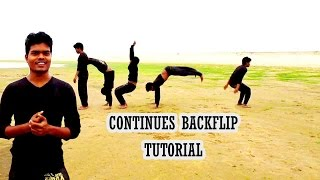 continuous backflips tutorial in hindi