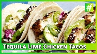 How To Make Tequila Lime Chicken Tacos | Amrita Rana |#fame Food