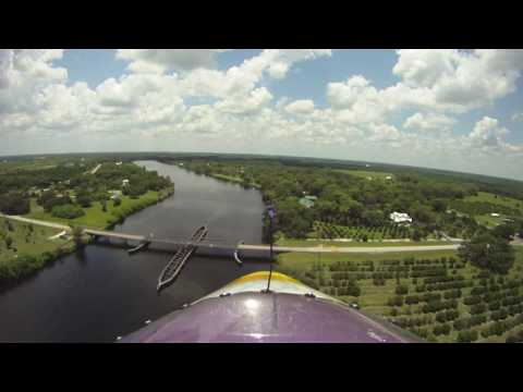 Flying the Caloosahatchee