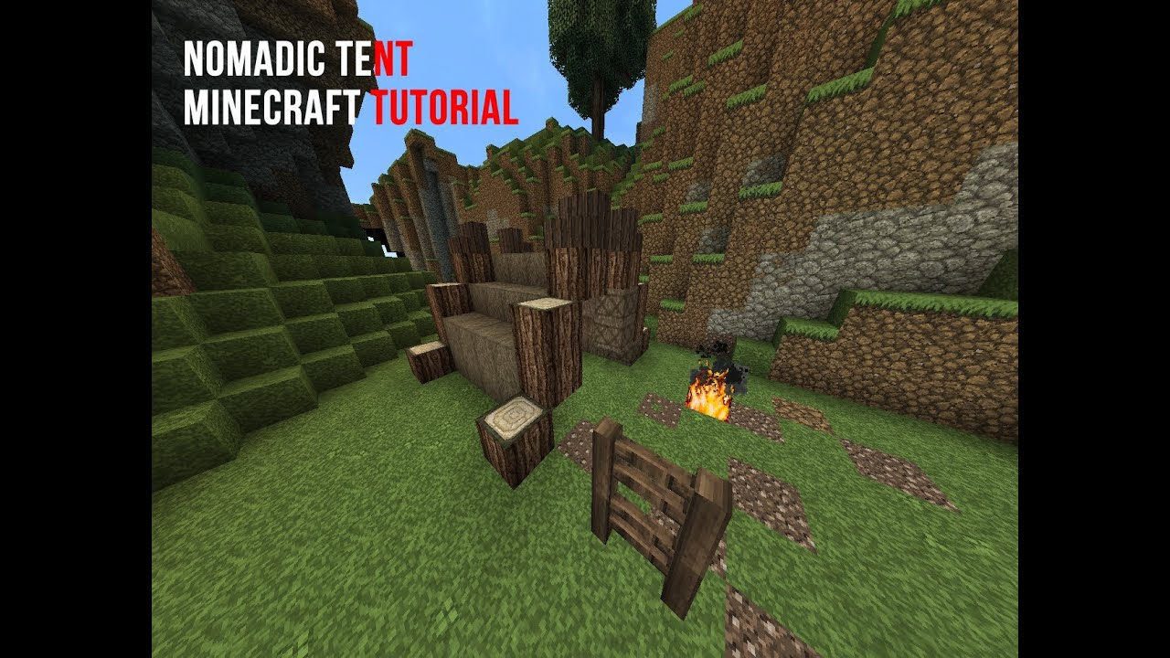 Nomadic Tent | Minecraft Tutorial & Nomadic Tent | Minecraft Tutorial - YouTube