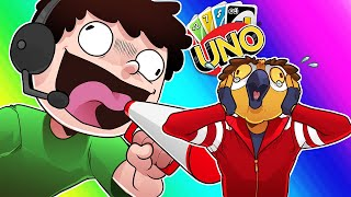 Uno Funny Moments - Hit With +12 and Nogla is LOUD!! thumbnail
