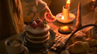 SUB | おうちで過ごすクリスマス | Christmas for a Japanese Living Alone | 58