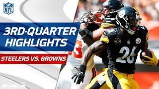 Steelers vs. Browns Third-Quarter Highlights | NFL Week 1