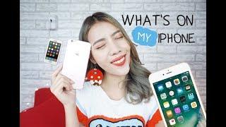 What's on my Phone 2017 มีอะไรอยู่ในโทรศัพท์มือถือ? l popeyebeauty