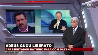 Ratinho revela conversa com Gugu dias antes da morte dele