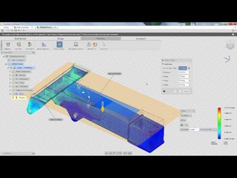 Autodesk Labs: Non Linear Results For Project Arro SimStudio