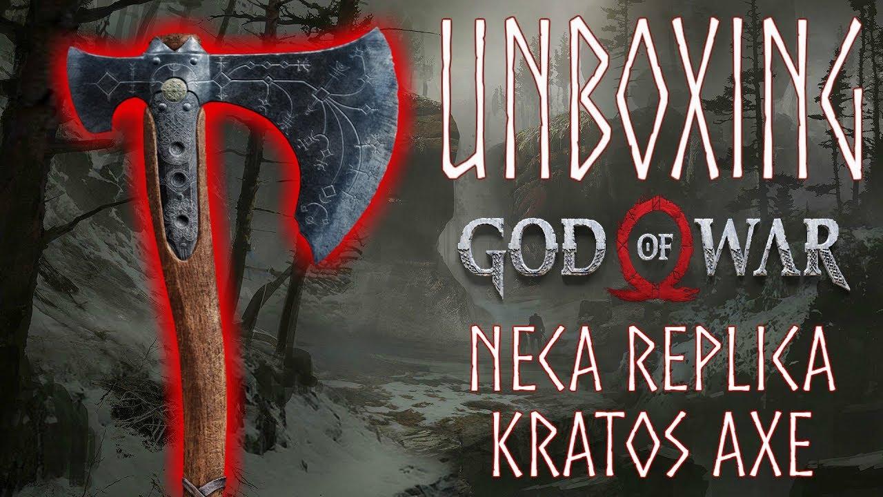 Unboxing God Of War Neca Replica Kratos Axe