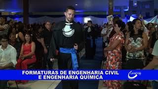 FORMATURAS DE ENGENHARIA CIVIL E ENGENHARIA QUÍMICA