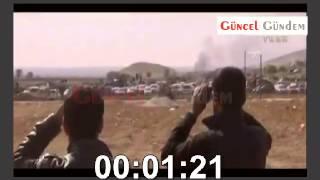 Türk Askeri IŞİD Araçlarını Vurdu !  Son Dakika - Helal Olsun !