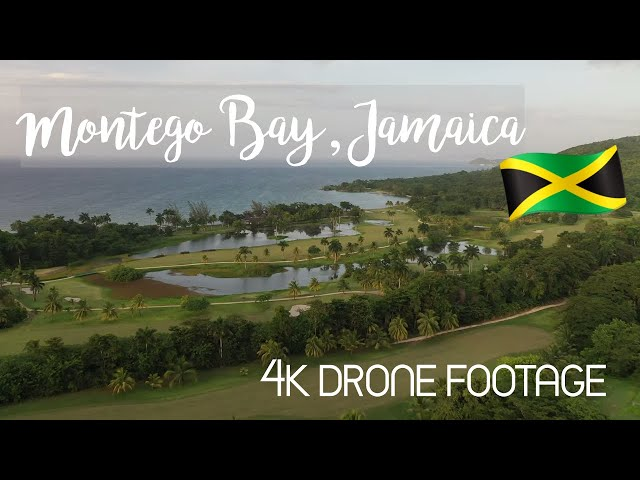Jamaica from Above - 4K Drone Footage