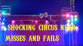 TOP 3 NEAR DEATH circus fails!