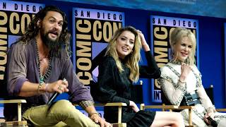 Aquaman - SDCC Full Panel - Majestic Entertainment News Coverage