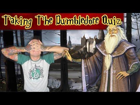 Taking The Albus Dumbledore Quiz + Discussion