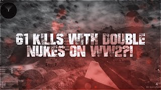 61 KILL GAME WITH TWO NUKES IN ROBLOX WW2!! (INSANE GAME?!)