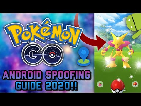 POKEMON GO ANDROID SPOOFING GUIDE 2020!! NO ROOT!!