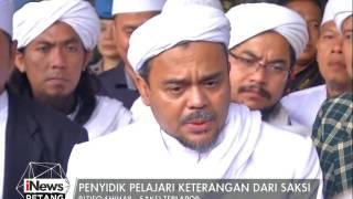 Rizieq Shihab : Penyidik Pelajari Keterangan Dari Saksi - INews Petang 12/01