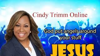 Cindy Trimm - God put angels around your stuff