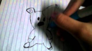 """How to draw Mr.bean teddy"""