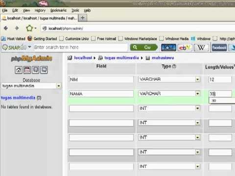 how to find database encoding phpmyadmin