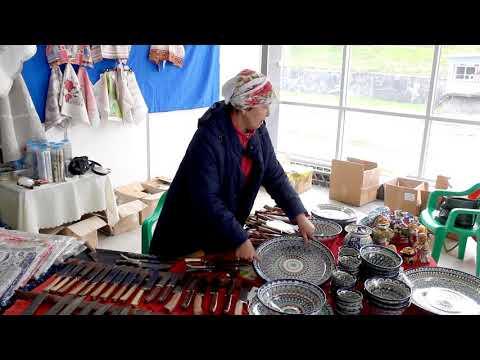 Посуда и ножи с Узбекистана