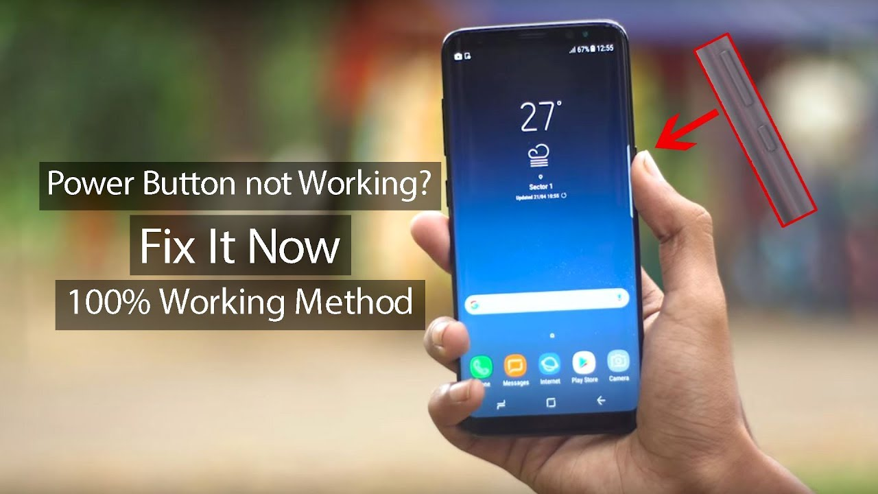 Power button not working in android? | Fixed | (100% working solution)