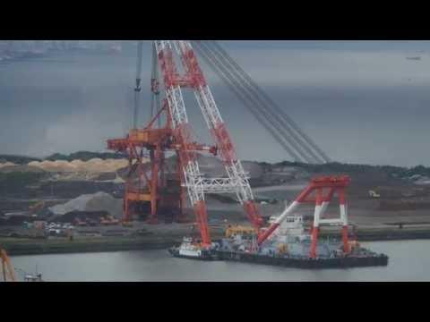 Floating Crane Lifting Shipping Crane