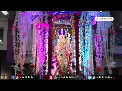 Aroackia Madha Feast Procession@Risen Christ Church,Peravallur,Chennai,TN. 16-09-17