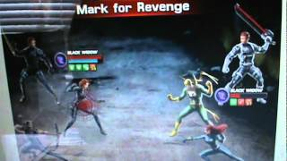 Marvel Avengers Alliance Black Widow Revenge Tactics glitch