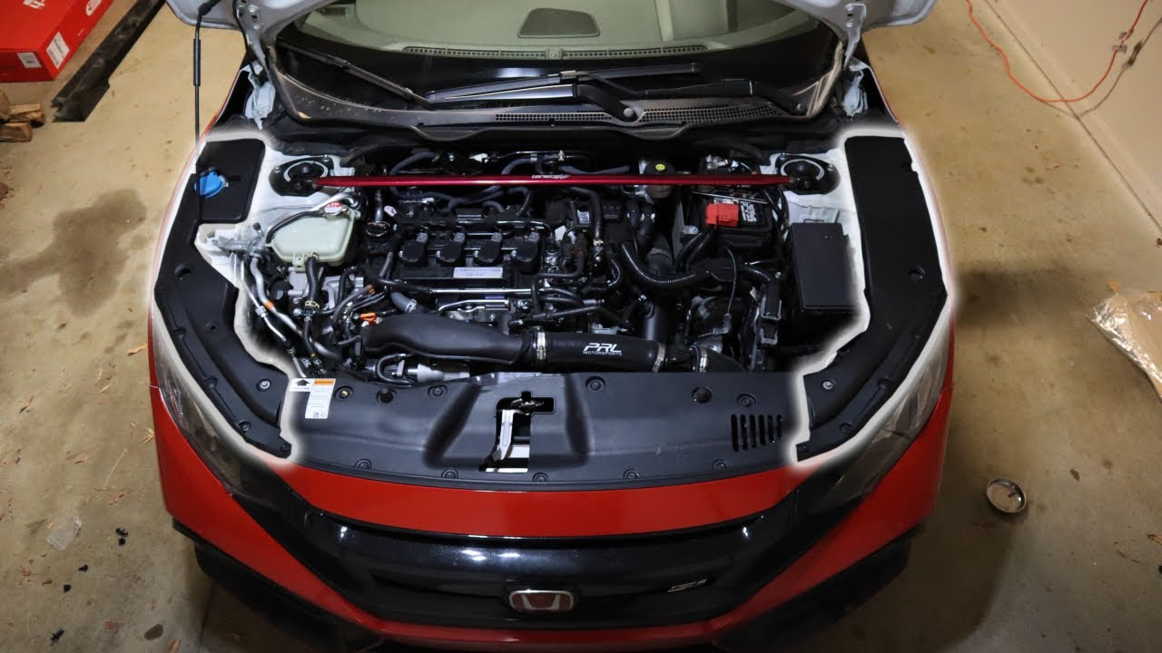 10Th Gen Civic >> 10th Gen Civic Engine Bay Dress Up Kit! - YouTube