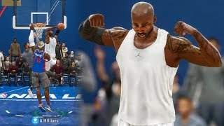 NASTY POSTER DUNKS WHILE GETTING STEALS IN BACKCOURT! NBA Live 18 Live Run Gameplay Ep. 16