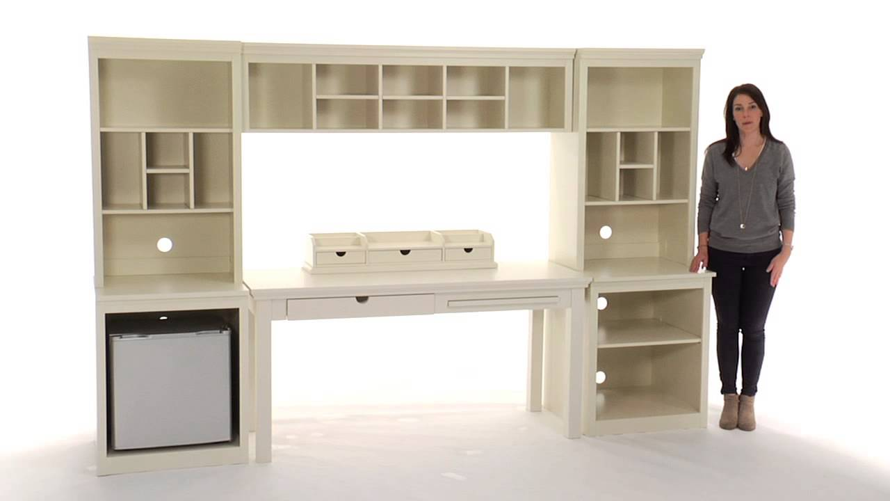 Desk With Storage Set The Perfect Solution For An Organized Study Pbteen