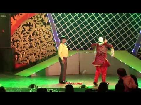 Dharmesh @Taj Nite 5~2013,Jamshedpur,Judging Swastik & Srijita