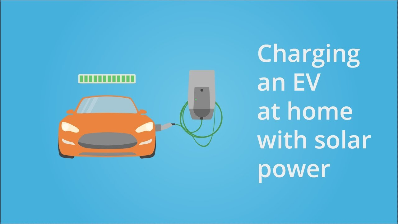 How To Charge An Electric Vehicle With Solar