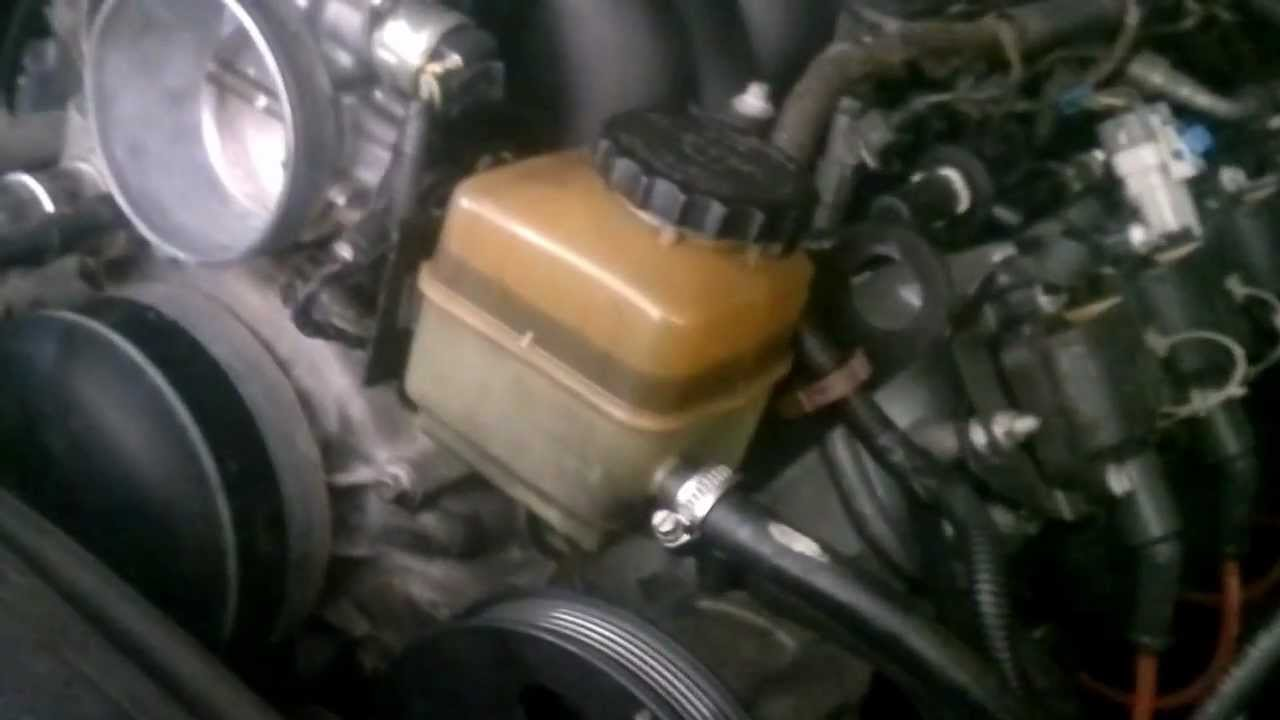 How To Change Water Pump On A Commodore Vy Sv8 Youtube