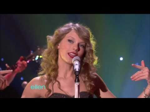 Taylor Swift - You Belong With Me (Ellen Degeneres Show)