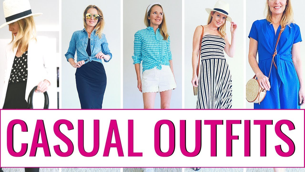 3a8f2b89bd7d7 Spring/Summer Lookbook 2018 | Affordable, Casual Outfit Ideas - YouTube