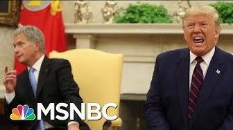 Trump And The President Of Finland Have A Bit Of A Complicated Relationship | All In | MSNBC