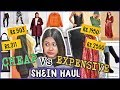 Cheap Vs Expensive SHEIN TRYON HAUL | SHOPPING BATTLE: Is there a difference? Clothes, Bags & MORE
