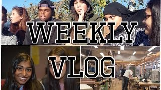 Weekly Vlog- Football+ Friends Thumbnail
