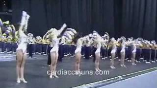 LSU Tigerama LSU Pregame Touchdown for LSU Golden Girls