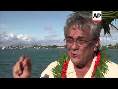 Pacific islands face climate change threat
