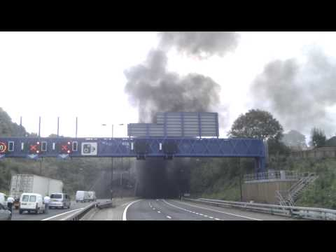 Brynglas Tunnel - Lorry Fire Incident (M4, Nr Newport, Wales)