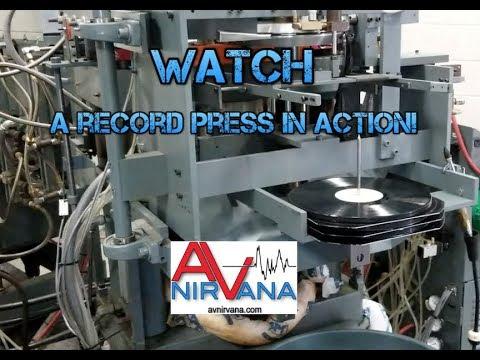 See Vinyl Records Being Made at Quality Record Pressings, Kansas USA!
