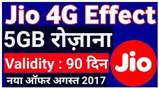 Video Jio 4G EFFECT | 5GB Per Day for 90 days offer launched by BSNL download MP3, 3GP, MP4, WEBM, AVI, FLV Desember 2017