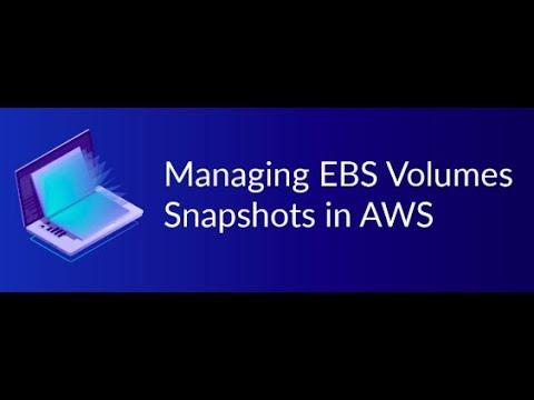 AWS EBS Volumes and Snapshot in Hindi   AWS Tutorial thumbnail