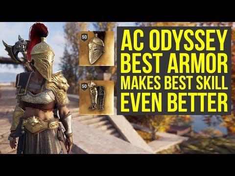 Assassin's Creed Odyssey Best Armor ENHANCES BEST SKILL - Arena Fighter Set  (AC Odyssey Best Armor)