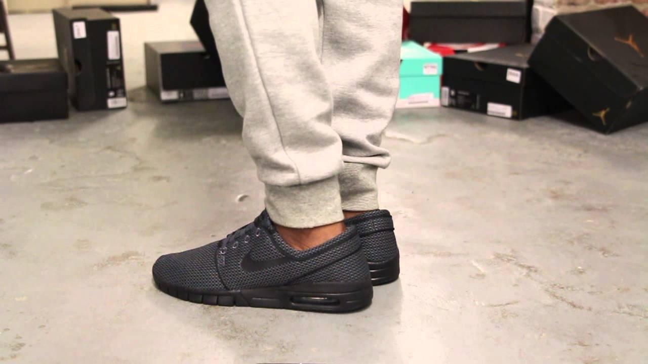 Nike Stefan Janoski Max W Black 38